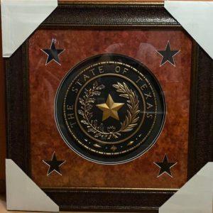 Texas Seal Wall Art