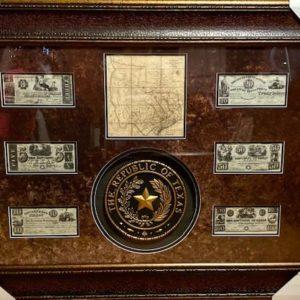 Texas Republic Framed Art