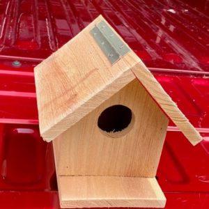 Handmade Cedar Bird House