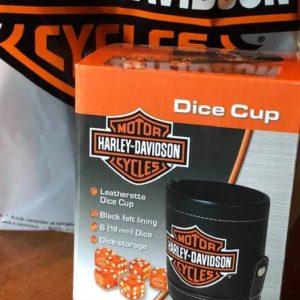Harley Davidson Dice Cup