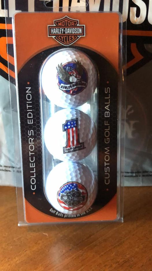 HD Collector Edition Golf Balls