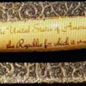Handmade Ink Pen/Pledge of Allegiance