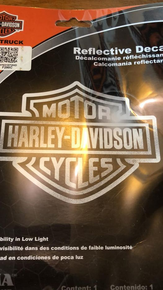 H-D Decal