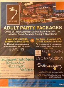 ADULT PARTY PACKAGE GIFT CERTIFICATE