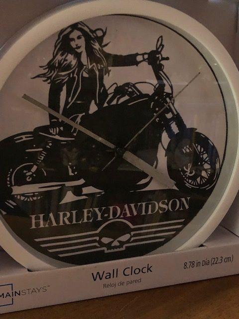 Lady Rider Wall Clock