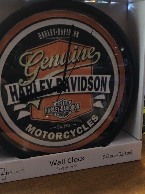 Genuine Harley Davidson Wall Clock